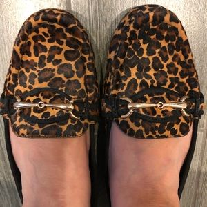 Alex Marie calf hair loafers